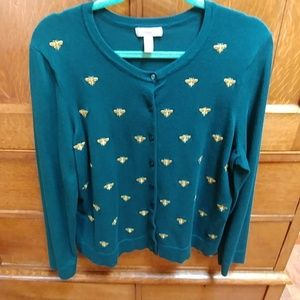 Charter Club Sweaters - Button down cardigan sweater